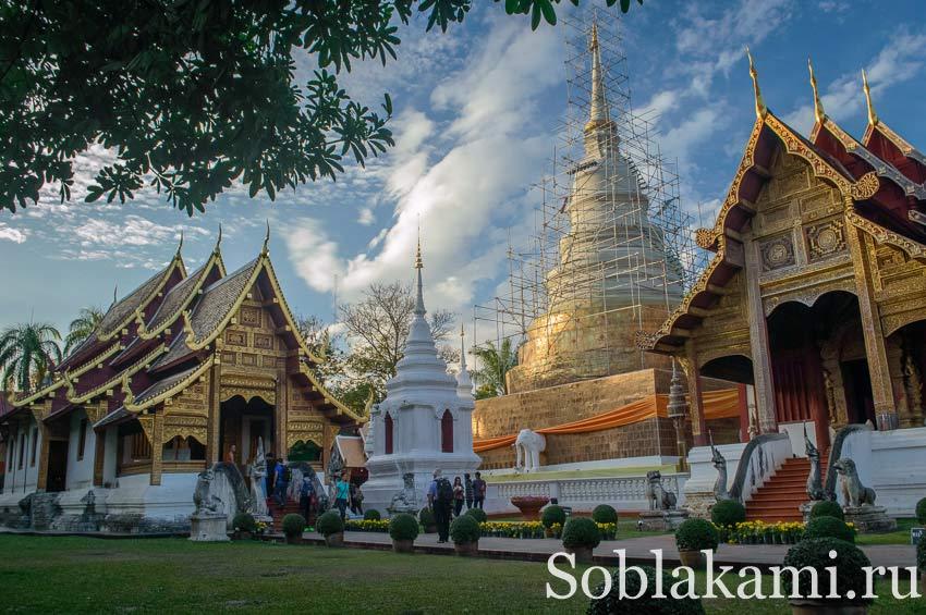 Храм Phra Singh в Чиангмае: фото, отзывы