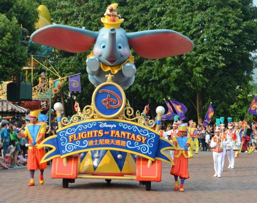 Диснейленд в Гонконге: Парад принцесс и не только - ЧАСТЬ 2